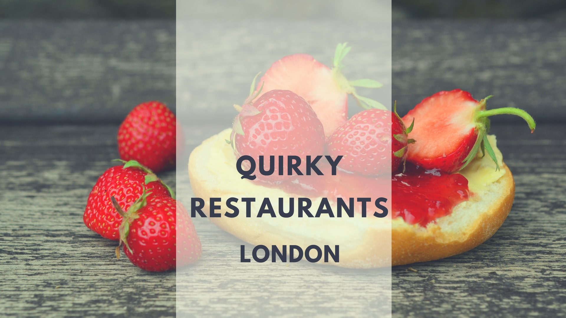 Quirky London Resturents