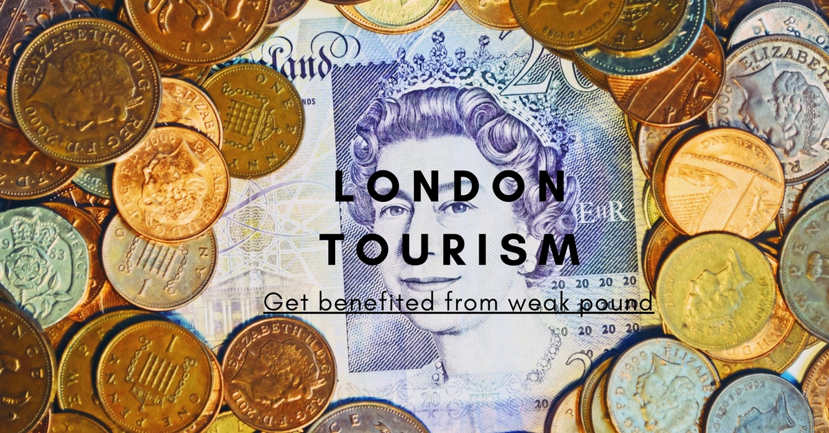 London tourism: Get benefited from weak pound
