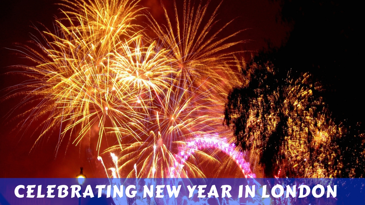 Celebrating New Year in London