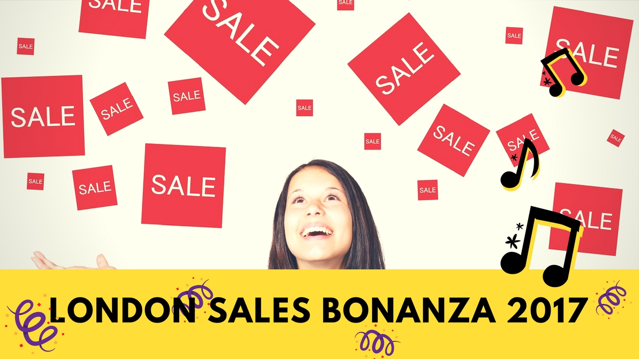 London Sales Bonanza
